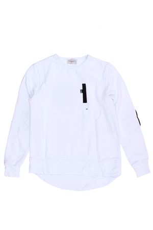 Cotton sweatshirt PAOLO PECORA | -161048383 | PP2269BIANCO