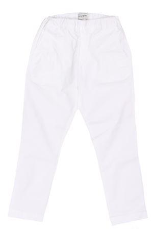 Pantalone cargo in cotone stretch PAOLO PECORA | 5032272 | PP2281BIANCO
