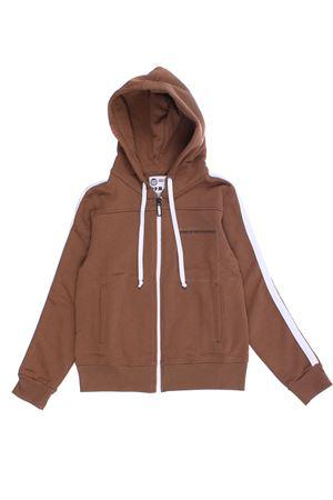 Sweatshirt with hood PAOLO PECORA | -161048383 | PP2328TERRA