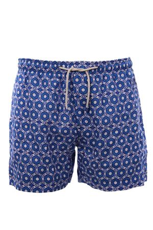 Linen swim short