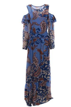 Long dress with belt PInk Memories | 5032276 | 10828117