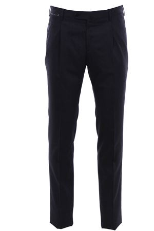Pantalone slim in tela di lana stretch PT | 5032272 | VF11Z00CL1AN630255