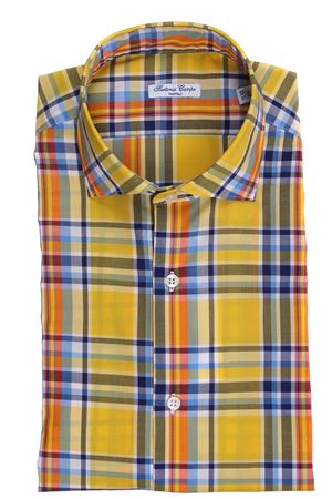 Cotton madras shirt