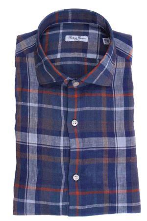 Camicia madras in lino SARTORIA CAMPO | 5032279 | GH89902