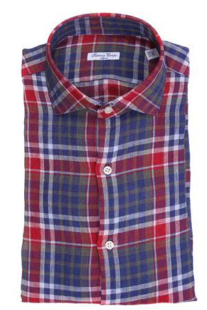 Camicia madras in lino SARTORIA CAMPO | 5032279 | GH89903