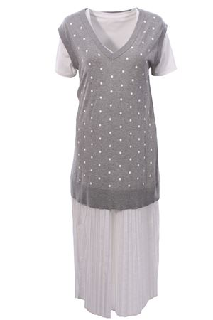 Long dress with vest SEMICOUTURE | 5032276 | S0YY0SD05X410