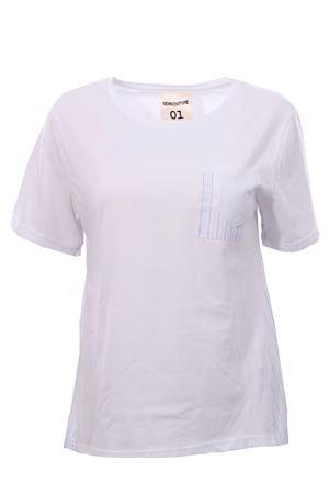 T-shirt doppiata in cotone SEMICOUTURE   8   S0YY0SJ04A010