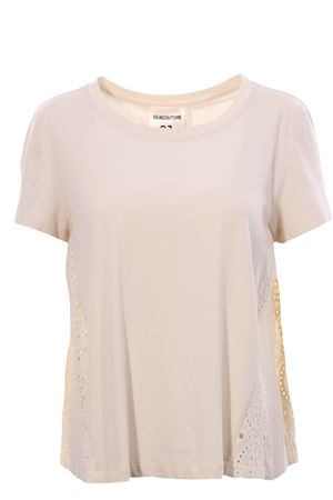 Cotton t-shirt with embroidery SEMICOUTURE | 8 | S0YY0SW52A360