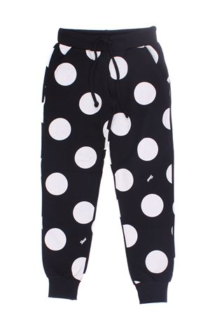 Polka dot sweatshirt pants