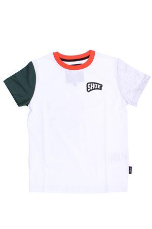 T-shirt con maniche bicolore SHOE | 8 | TIBBYBIANC