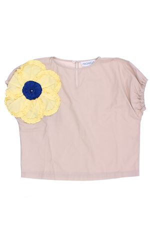Tunic with flower