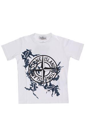 Cotton t-shirt STONE ISLAND | 8 | 721621056V0001