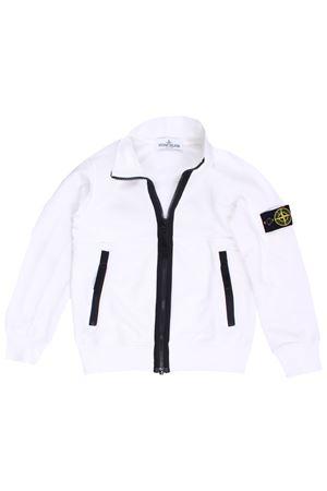 Sweatshirt with zip STONE ISLAND | -161048383 | 721661742V0001