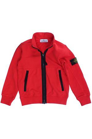 Sweatshirt with zip STONE ISLAND | -161048383 | 721661742V0036