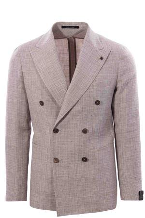 Giacca in armatura di lino e lana TAGLIATORE | 5032284 | 1SMC20K12UEG308A3047