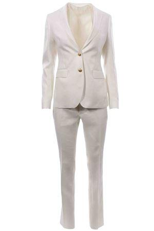 Tailleur pantalone con gilet in lino TAGLIATORE | 5032309 | PFDL22BS34239X1397