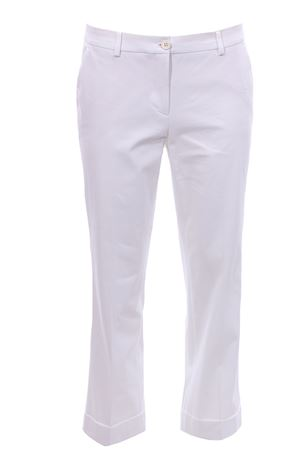 Cotton pants with cuff