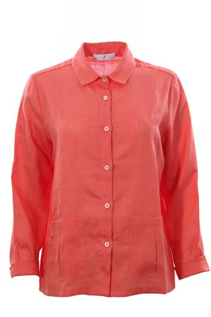 Giacca camicia in lino WHYCI | 5032284 | WH00290042