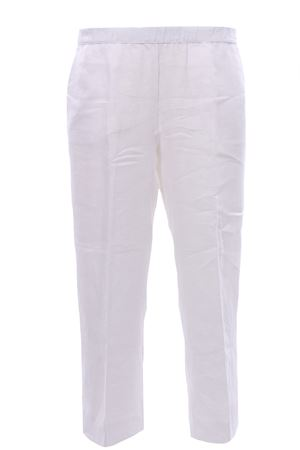 Pantaloni gamba larga in lino WHYCI | 5032272 | WH00300002