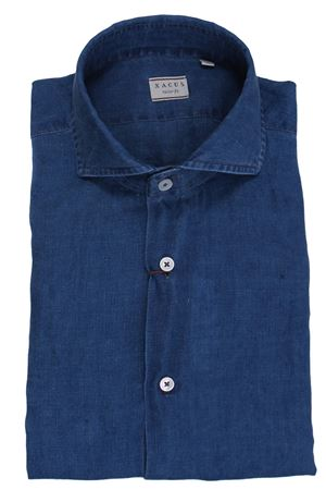 Linen denim shirt