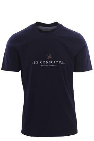 T-shirt with print BRUNELLO CUCINELLI | 8 | M0T617127CB758