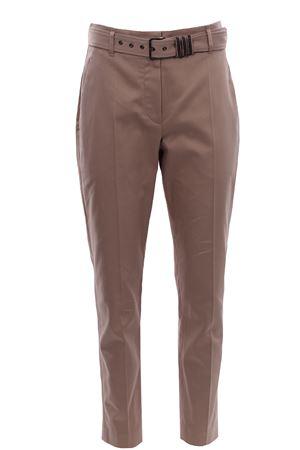 Cotton pants with belt BRUNELLO CUCINELLI | 5032272 | MA130P7465C8506