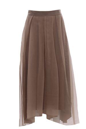 Long silk skirt BRUNELLO CUCINELLI | 5032307 | MF940G3086C7178