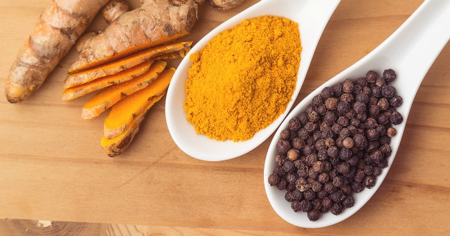 Reduce Inflammation with Turmeric and black pepper