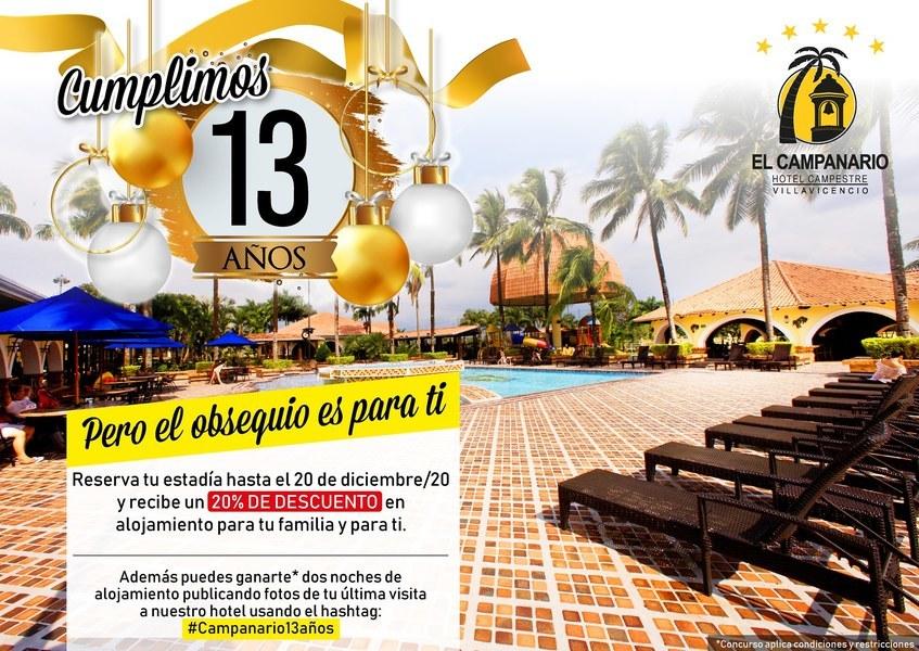 cumpleaños n° 13 Hotel Campanario