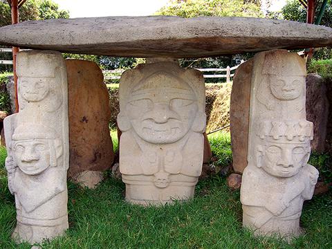 San Agustín cultura milenaria