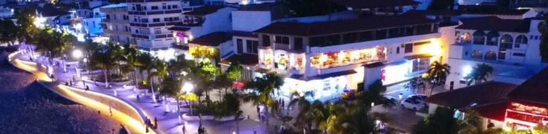 The boardwalk in Puerto Vallarta: meet one of our biggest icons