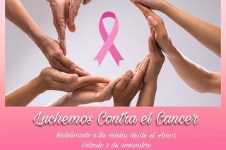 Octubre mes donde Luchamos contra el cáncer.