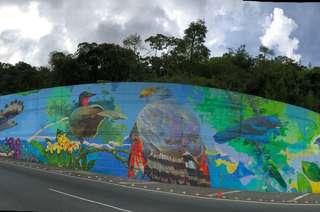 El mural de aves más grande del Eje Cafetero