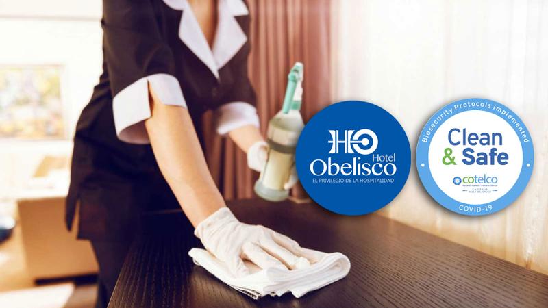 Prevención y Bioseguridad Hotel Obelisco Cali