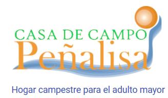 Hotel Casa de Campo Peñalisa para el adulto mayor
