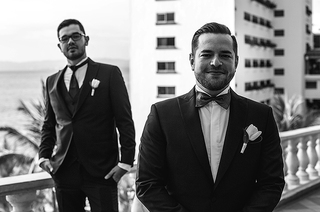 Photos de mariage gay à Puerto Vallarta