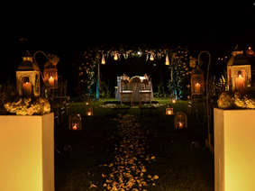 Decoración para Matrimonios - Corte Nupcial