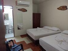 Habitación para dos personas dos camas