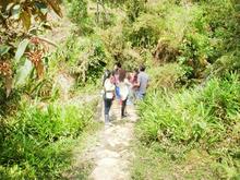 Senderismo Río Guayuriba