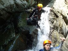 Canyoning Cañon Guerrero