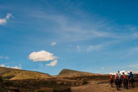 Cabalgata Desierto