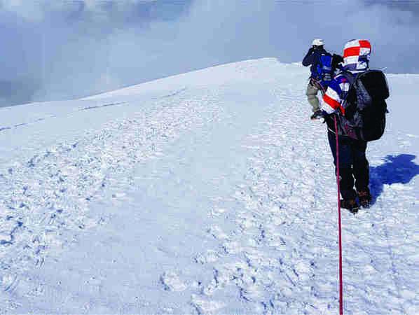 Cumbre Nevado del Tolima