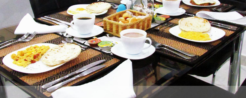 Desayuno Quindiano en Montes de la Castellana