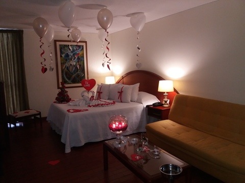 Plan noche romántica sencillo - uno
