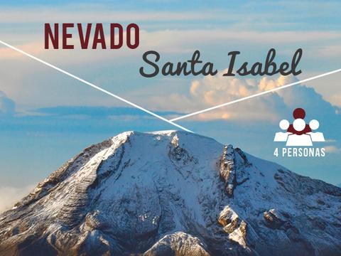 Nevado Santa Isabel- 4 Personas, 1 Noche