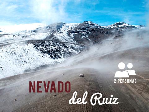 Volcán Nevado del Ruiz - 2 Personas, 2 Noches