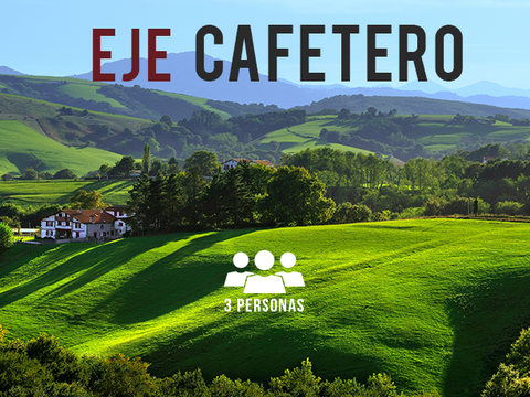 Circuito Cafetero- 3 Personas, 1 Noche