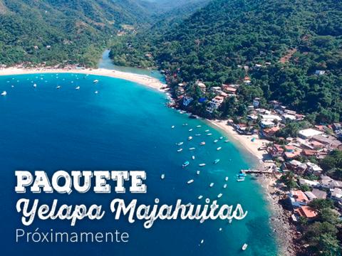 Paquete Yelapa - Majahuitas