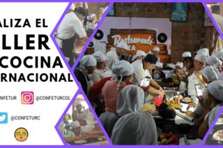 CLAUSURA CURSO DE COCINA INTERNACIONAL EN URIBE –META