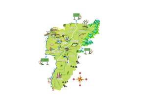 Mapa del Quindio